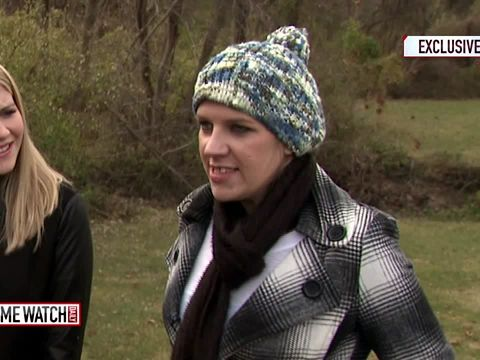 Exclusive: Ashley Reeves visits scene where she was left for dead