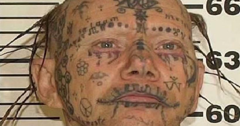 US Marshals looking for tattoo-covered sex offender