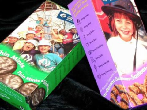 Girl Scout Cookie stand robbed at gunpoint