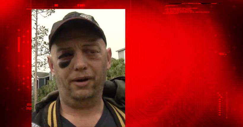 Veteran beaten up for trying to save turtle from men abusing it, police say
