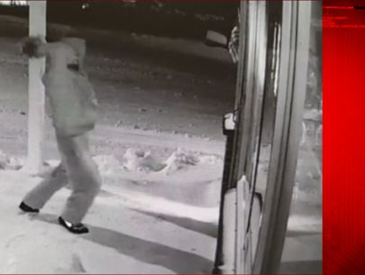 'Comical' failed break-in captured on surveillance video