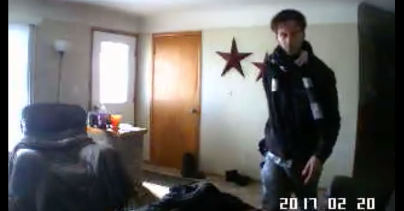 Watch this Michigan home invasion suspect get roasted by a webcam