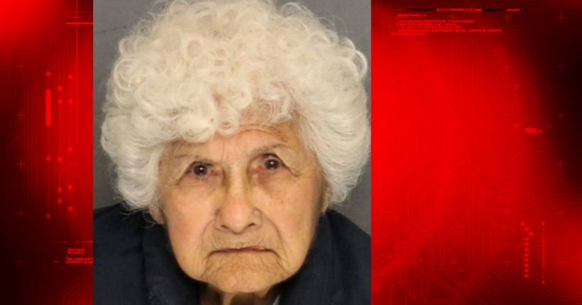 Elderly woman accused of stabbing son released from jail