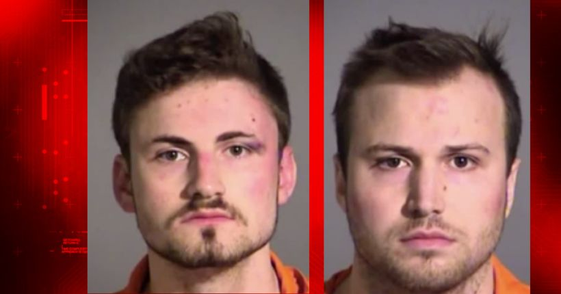 Two brothers take shrooms, get naked and cause mayhem at apartment complex