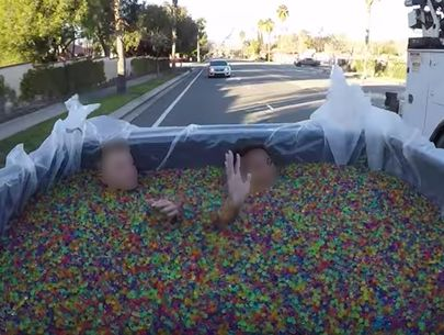Videos of Orbeez-filled truck ride lead to child endangerment charges