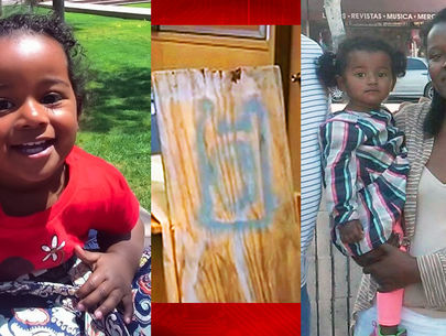 Baby daughter missing; Mysterious logo key to mom's murder?