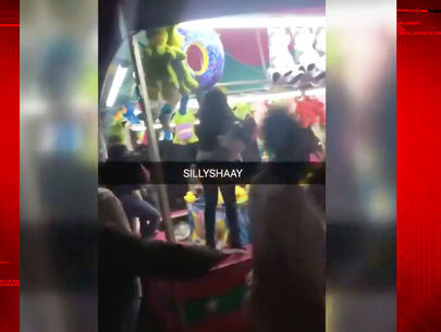 KRON4: Chaos at Oakland carnival caught on camera