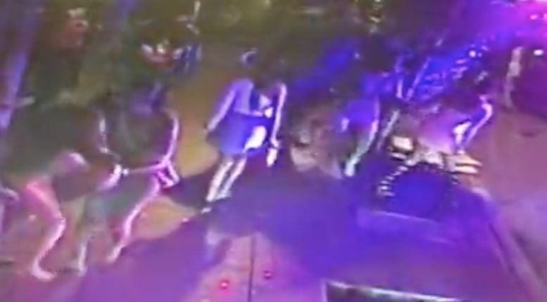 Video: Groups of women brawl on St. Patrick's Day outside club