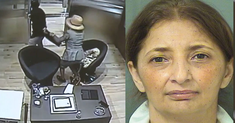 Woman locked inside vault after attempted jewelry theft foiled
