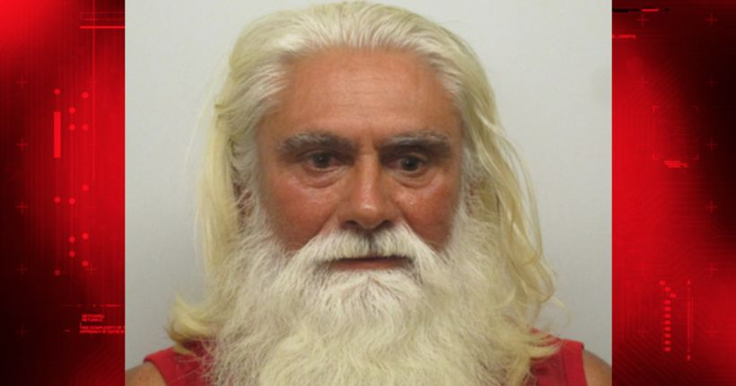 Man who looks like Santa Claus arrested on drug charges