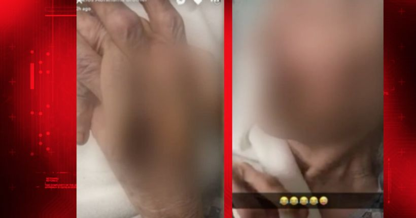 Disturbing photos posted by nursing home employee on Snapchat