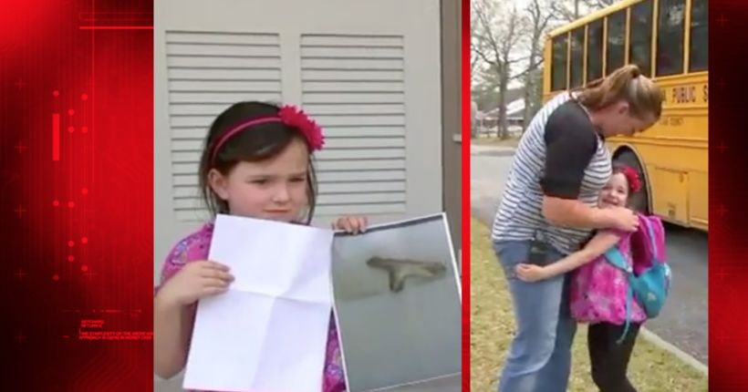 5-year-old girl suspended from kindergarten for playing with 'stick gun'