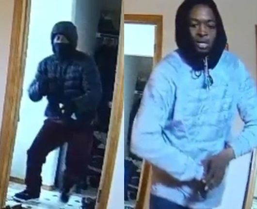 Violent home invasion caught on video