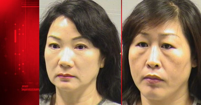 'Massage parlor' workers accused of giving erotic massages