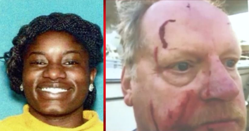 Woman who allegedly used hammer to beat man at gas station arrested