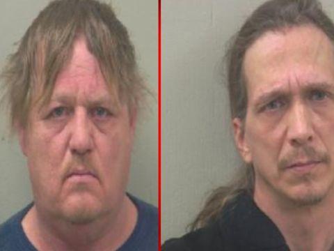 2 men arrested after pot bust