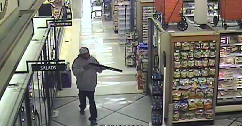 Police fatally shoot man who walked into Ontario Stater Bros. with shotgun