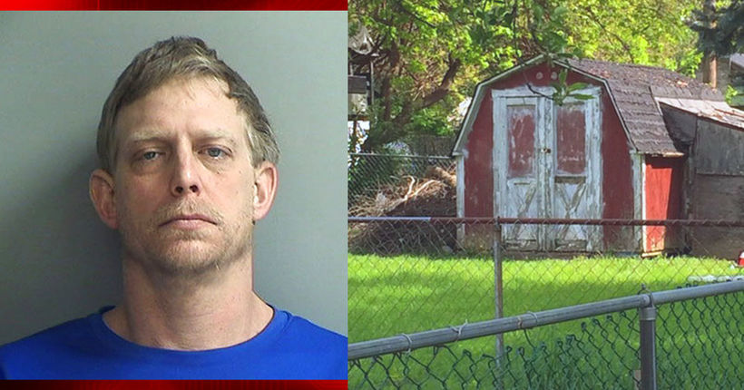 Missing Ohio woman rescued after being held captive under her neighbor's shed, police say