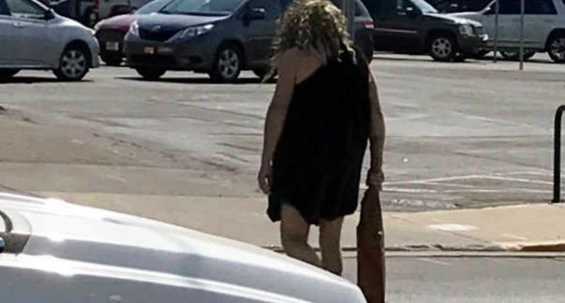 Indiana community confused after bizarre caveman sighting