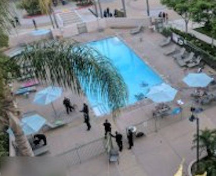 1 dead, 7 injured in mass shooting at San Diego pool; gunman killed by police