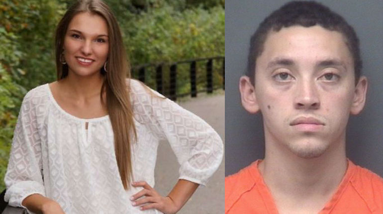 Ex-boyfriend charged with murder after college student found dead near soccer field