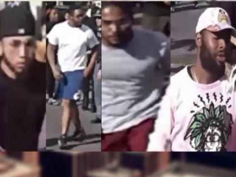 Video shows 5 men relentlessly punch Bronx street vendor