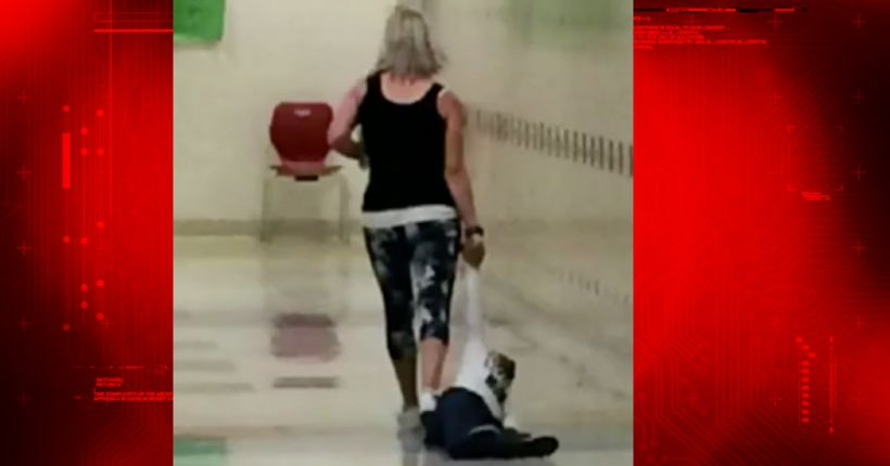 Preschool teacher fired after seen dragging child at school