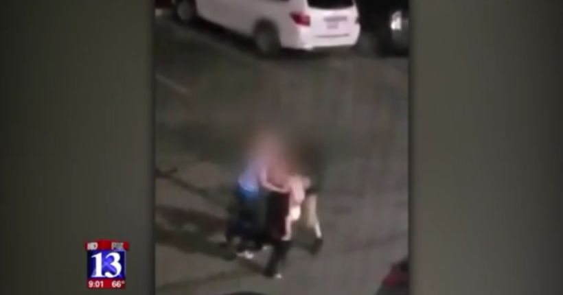 Orem Police respond after video shows baby caught in middle of family brawl