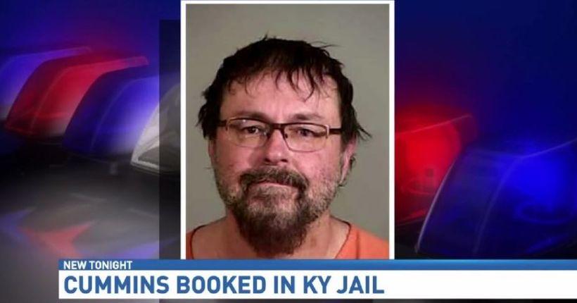 Tad Cummins jailed in Kentucky