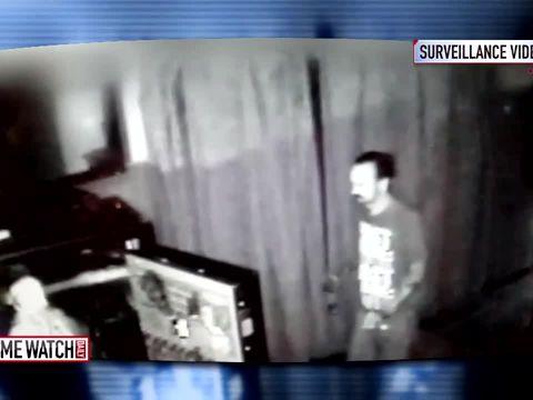 Home surveillance camera captures domestic violence, murder