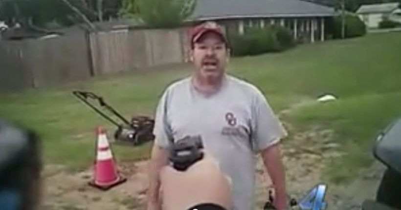 Oklahoma officer uses Taser in flap over parking ticket