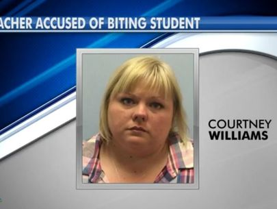 Special-ed teacher arrested for allegedly biting student