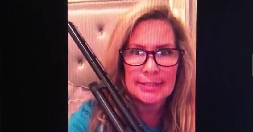 Texas mom Maria Luce goes viral after warning intruder: 'I'm locked and loaded'
