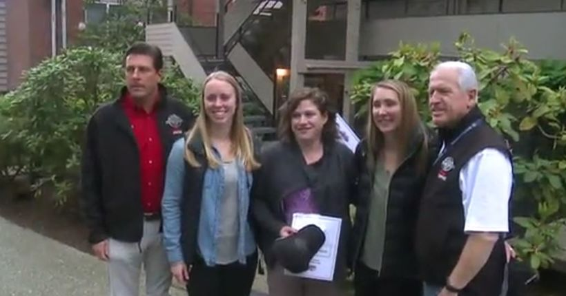 3 women honored for stopping sexual assaults in Seattle