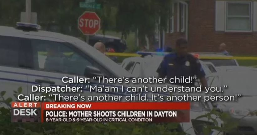 Police: Dayton mother shoots children in head, both in critical condition
