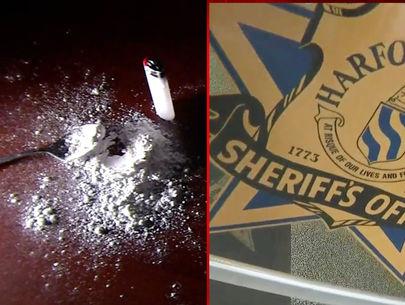 Sheriff's deputy experiences overdose symptoms responding to call
