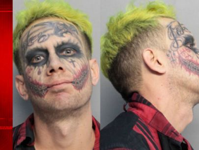 'Joker' accused of pointing loaded gun at cars