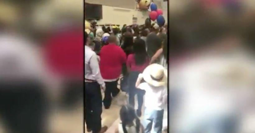 Adults brawl, police respond to kindergarten graduation