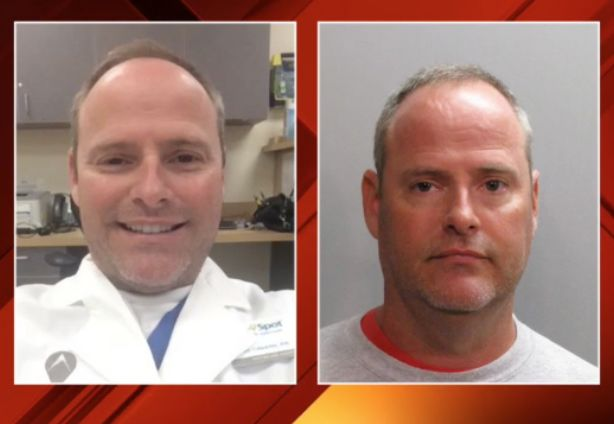 Physician assistant charged with exposing sexual organs