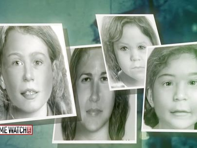 Mysterious serial killer linked to 'Allenstown 4'; identities sought (1/2)