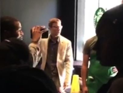 Caught on video: Man goes on racist rant at Chicago Starbucks