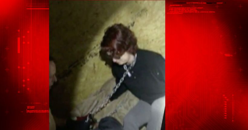 Videos show rescue of rape victim chained in metal container, serial killer's confessions