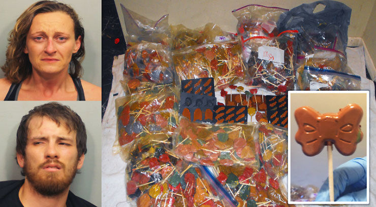 $1 million in meth-laced candies seized at Texas home