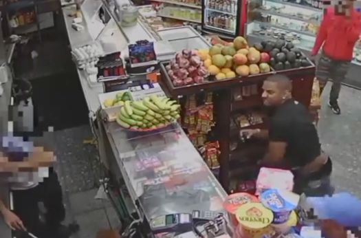 Video: Bronx deli clerk's jaw broken by avocado-flinging culprits during dispute