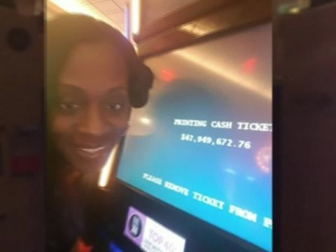 Woman sues casino that offered steak instead of $43M jackpot