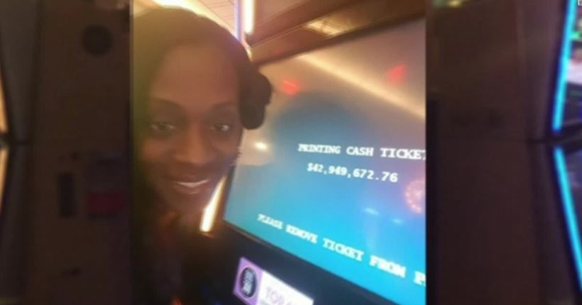 Woman sues casino that offered her steak dinner instead of $43 million jackpot