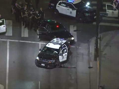 LAPD suspends cadet training after teen allegedly stole cruisers