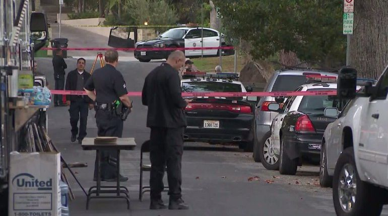 Man with knife injured during officer-involved shooting in Sherman Oaks: LAPD
