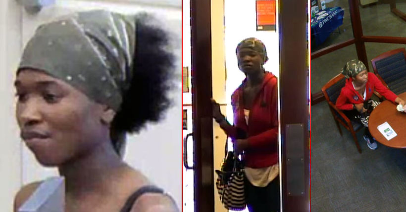 Atlanta, Marietta police continue search for female bank robber