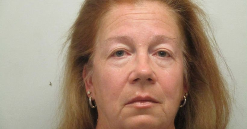 Florida woman accused of choking her dog to death because it bit her